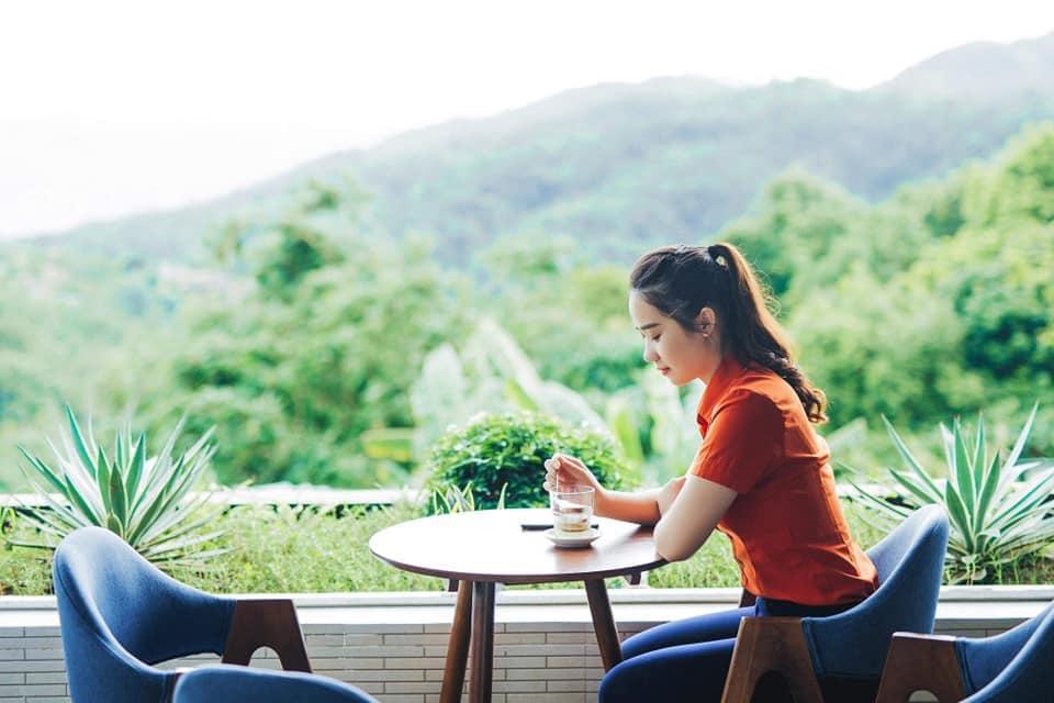 Uống cà phê và ngắm Khe Sanh từ trên cao
