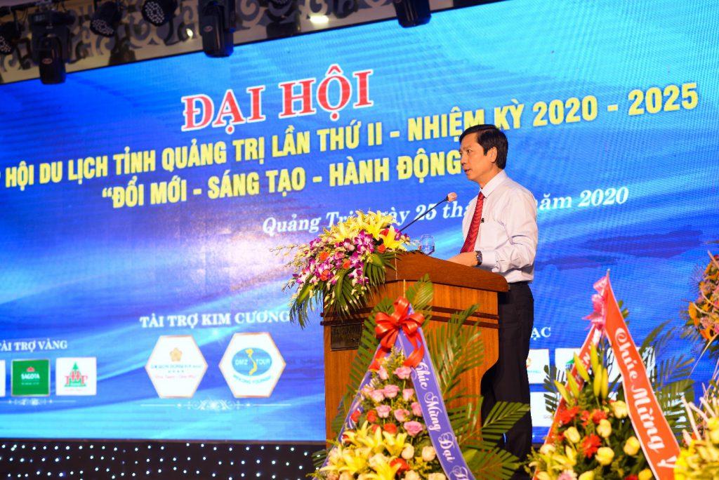 Phó Chủ tịch UBND tỉnh Hoàng Nam phát biểu chỉ đạo Đại hội