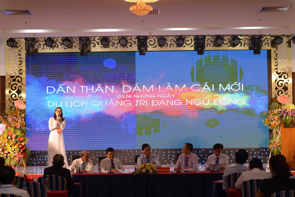 Đại diện Doanh nghiệp trình bày tham luận