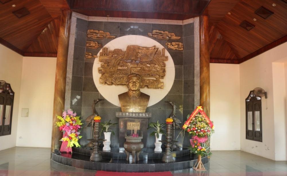 Nhà tưởng niệm Cố Tổng Bí thư Lê Duẩn