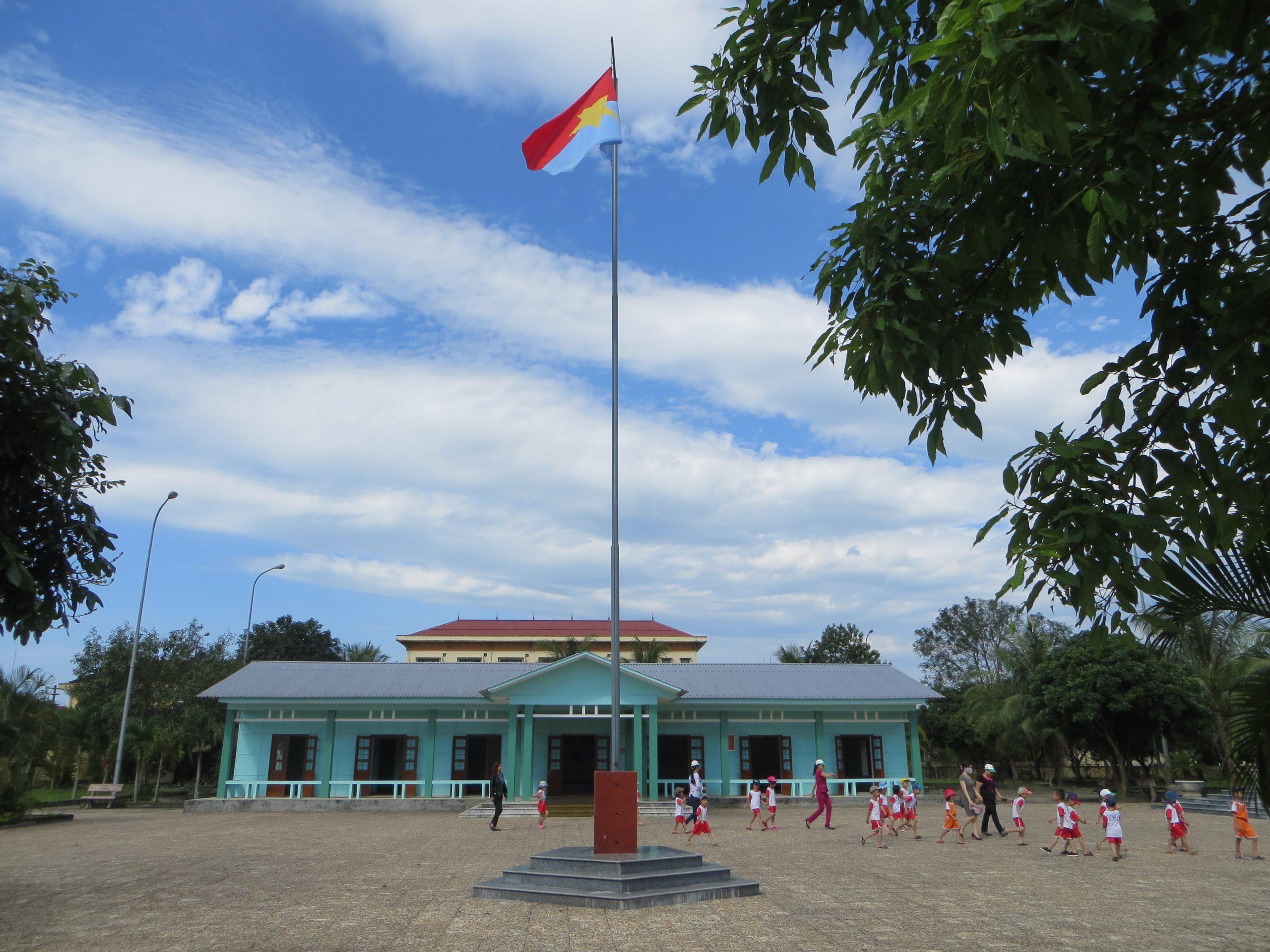 Nhà làm việc của Chính phủ CMLTCHMNVN (Ảnh: Nguyễn Duy Hùng)