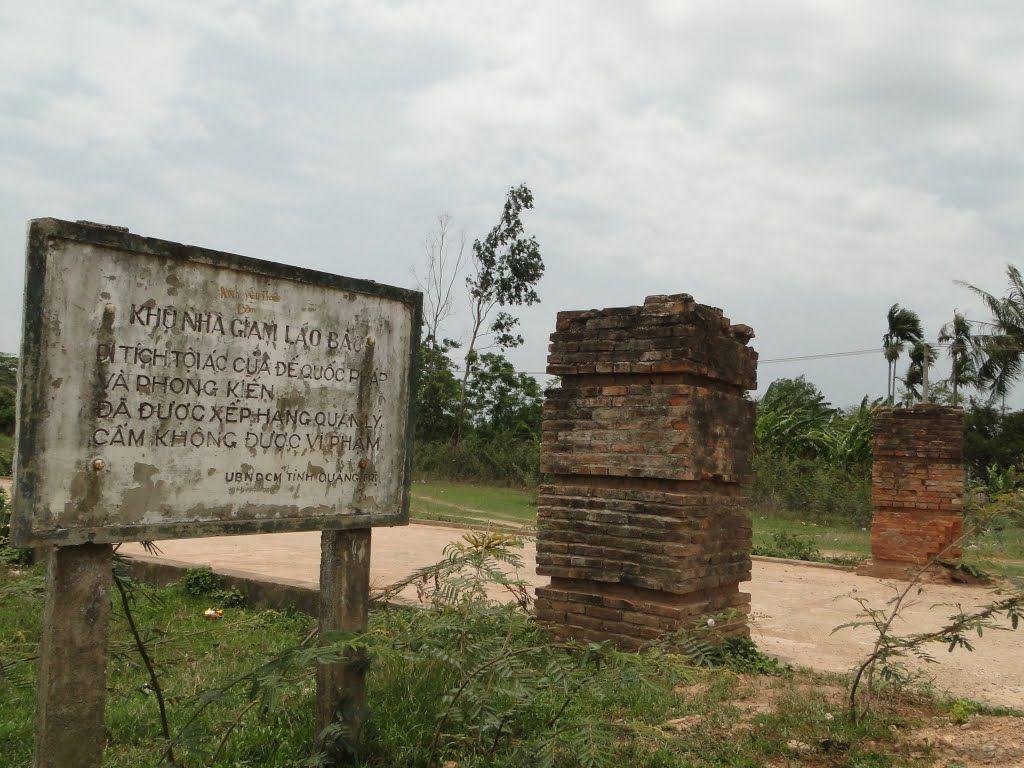 Nhà tù Lao Bảo Quảng Trị, khu nhà giam
